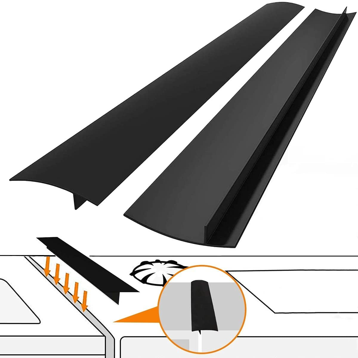 Kitchen Silicone Stove Counter Gap Super special price with Wid Heat Cover Resistant Max 42% OFF
