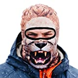 Beardo Balaclava Ski Mask, Lion