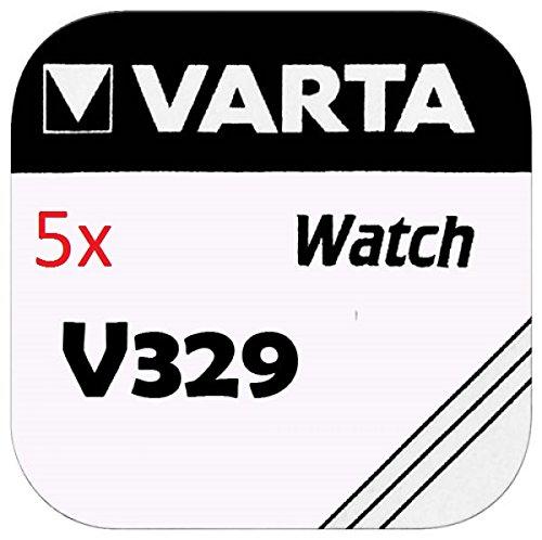 VARTA KNOPFZELLEN 329 SR731SW (5 Stück, V329)