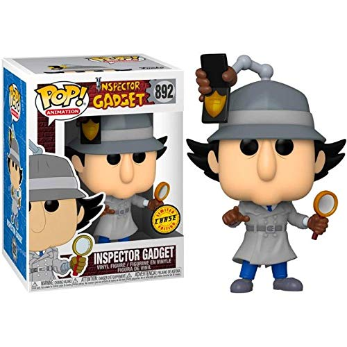 USA OFFICIAL Funko Pop Animation 892 - Inspector Gadget (Chase)