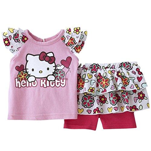 Hello Kitty - Ensemble - Bébé (fille) 0 à 24 mois rose 62-68