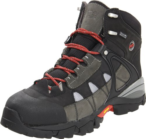Timberland PRO Men's Hyperion Waterproof Work Boot,Gray/Gray,13 W US
