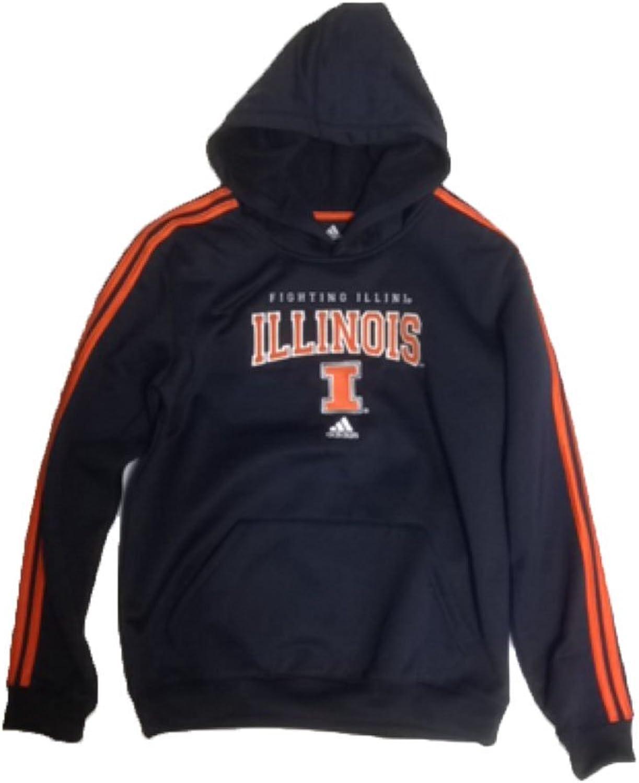 Illinois Fighting Illini Adidas bluee Youth Sweatshirt