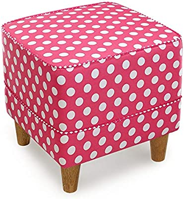 Amazon Com Homepop Upholstered Storage Cube Ottoman With