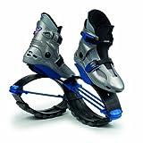 KangooJumps Power - Botas Infantiles de Salto para Fitness Multicolor Silver/Blue Talla:36-39