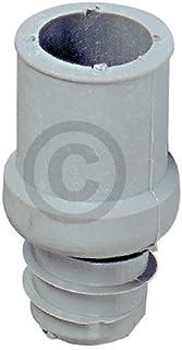 Pieza final de goma de 19 mm de diámetro para manguera de desagüe de lavavajillas