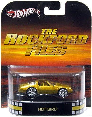 Hot Wheels Retro The Rockford Files Off 1 55 Die Cast Car Hot Bird by Mattel (English Manual)