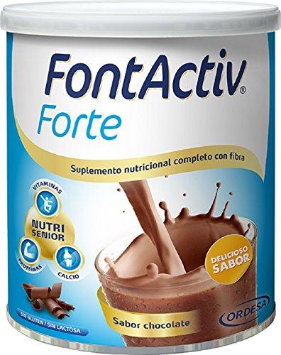 Fontactiv Forte Chocolate - 800 gr Suplemento Nutricional para Adultos y Mayores- 30 grs. 1 o 2 veces al día.