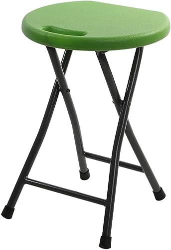 orden en línea ZZ ZZ ZZ Chair Asiento del Taburete Alto Plegable, portátil Ligero Estudiante de Aprendizaje Silla rojoonda Decoración del Restaurante Bar Party Bar Seat (Color   D)  mejor reputación
