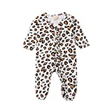 Newborn Infant Baby Girls Leopard Outfits...
