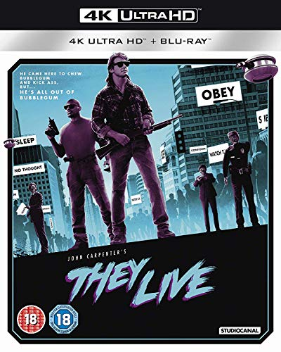 They Live (4K Ultra HD + Blu-ray) [2019]