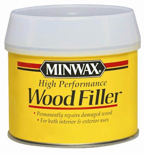 Minwax 41600000 High-Performance Wood Filler, 6-Ounce