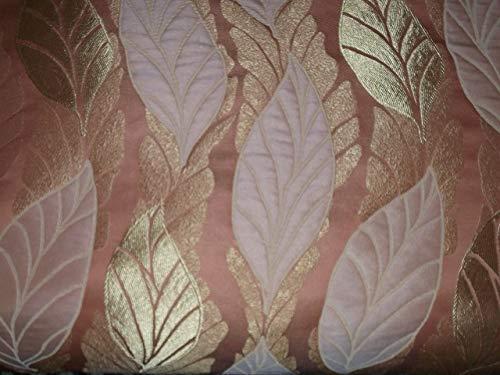 Generico Tessuto Stoffa per Arredamento,Rivestimento sedie,poltrone,divani.Adatto per tendaggi e Hobby creativi.Disponibile al Metro.Altezza 300 (Salmone)