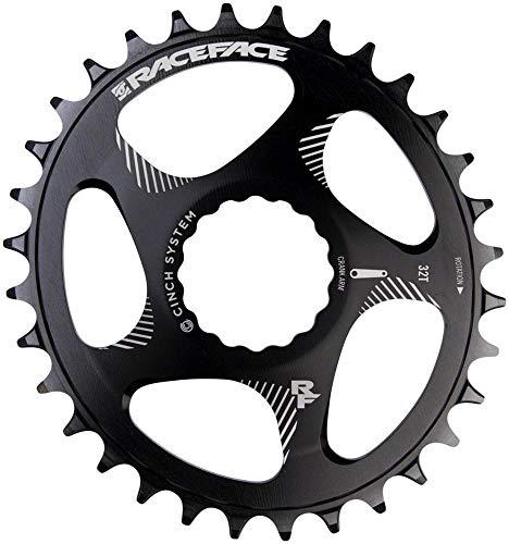 Race Face Direct Mount Oval-32t-Noir - Bandeja para Adulto, Unisex, 32