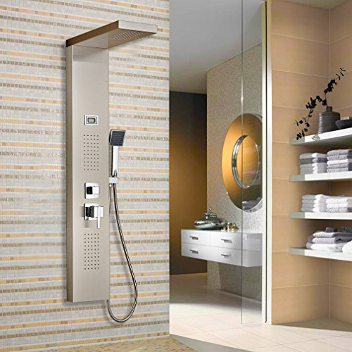 Columna de hidromasaje para ducha,...