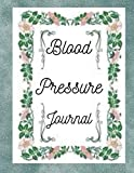 blood pressure journal: blood pressure log book 8.5 x 11 inches 116 page (bp log book notebook note book)