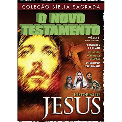 DVD Coleção Bíblia Sagrada O novo testamento (Volume 1)