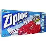 Ziploc Freezer - Galón para congelar, 38 Bolsas, 26,8 x 27,3 cm