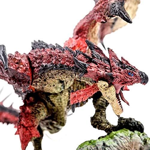 Jaypar Monster Hunter Abbildung The Dragon Figur Action Figure 5 Stil (Color : Rathalos)
