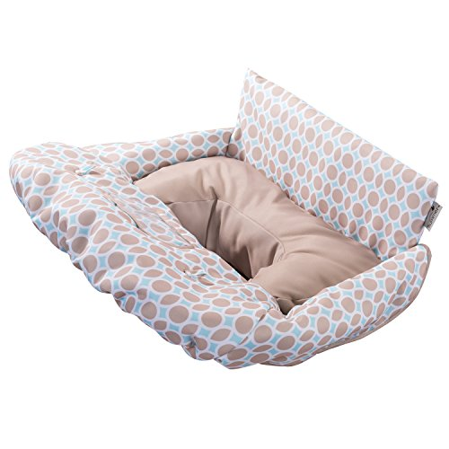 Summer Infant 2-in-1 Cushy Cart Cover and Seat Positioner, Dots and...