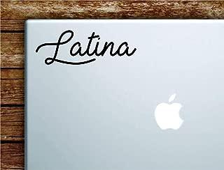 Latina notebook MacBook car quote wall decal sticker art vinilo lindo inspirador adolescente gracioso niña mujer España México
