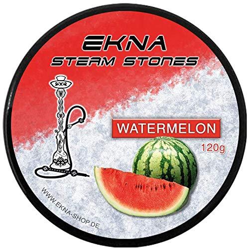 EKNA® Steam Stones Watermelon 120g - Fruchtig, Intensiver Wassermelone Geschmack - Shisha Steine - Dampfstein Granulat