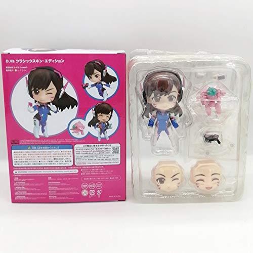 feiren Overwatches Figur Song Hana Animes Classic Skin Edition Zwei Gesichter Actionfiguren Sammlermodell Puppe Spielzeug Geschenk Kinder (Farbe: In Einzelhandelsverpackung)