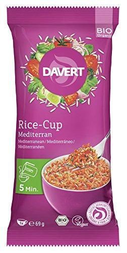 Davert Mediterraner Reis-Cup (69 g) - Bio