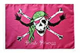 Flagge / Fahne Pirat Pirate Princess Prinzessin + gratis Sticker, Flaggenfritze®