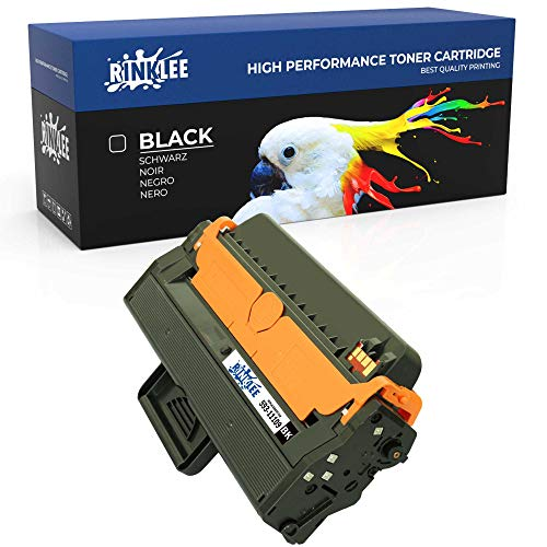 RINKLEE 593-11109 Toner Cartridge Compatible with Dell B1260dn B1265dfw B1265dnf   High Yield 2500 Pages   Black