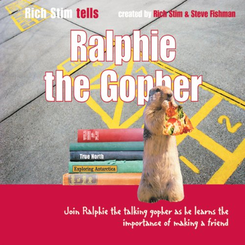 Ralphie the Gopher audiobook cover art