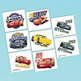 Cars 3 Temporary Tattoos Birthday Party Favours (8 Pack)