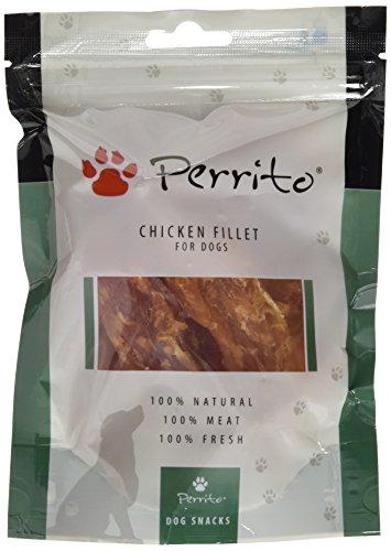 Perrito Hundeleckerli Chicken Fillet, Hühnerfilet, 5er Pack (5 x 100 g)