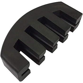 バイオリン ミュート 消音器 弱音器 4/4 ゴム製 VIOLIN MUTE 軽量 小型 携帯便利 夜間の練習用に