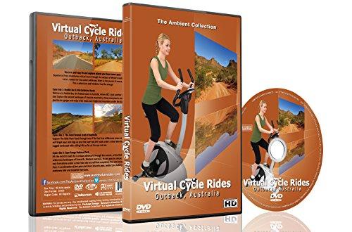 Paseos en bicicleta virtual - Outback Australia para caminadora de ciclismo indoor y correr entrenamientos