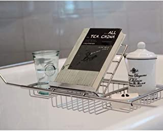 バスタブボードバスルームバスタブシェルフ拡張ボード多機能入浴シェルフ家庭用ステンレス鋼金属バスタブフレームバスルームトレイ