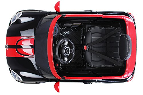 RC Auto kaufen Kinderauto Bild 4: Actionbikes Motors Kinder Elektro Auto Mini Cooper Paceman John Cooper Works Kinderauto Elektroauto Lizenziert 2 x 45 Watt Motor (Schwarz)*