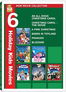 MGM Movie Collection: (An All Dogs Christmas Carol / Christmas Carol: The Movie / A Pink Christmas / Babes in Toyland / Prancer / Blizzard)