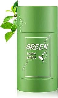 Ganesh Green Mask Stick, Green Tea Purifying Clay Stick mask, Detoxing & Toning Face Mask Stick, Facial Oil Control, Deep ...