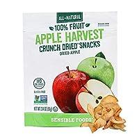 アップルハーベスト クランチドライスナック ドライアップル 96g(3.4oz) Sensible Foods[海外直送品]