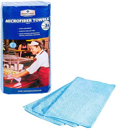 Member's Mark Microfiber Towels, (36ct.)