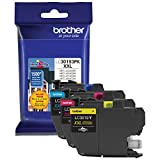 Brother Printer LC30193PK Super High Yield XXL 3 Pack Ink Cartridges- 1 Ea: Cyan/Magenta/Yellow Ink