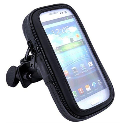 Bluelans® Handyhalterung Fahrrad , Motorrad-Halterung [360° drehbar] Handyhalter Fahrrad Tasche mit wasserdichte für iPhone 6s plus/6 plus/6S/6, Samsung Galaxy note 2, Galaxy S6 Edge, Doogee Homtom Ht6, andere 5,1 zu 5.5 Zoll Smartphone (Schwarz (5,1 zu 5.5 Zoll))