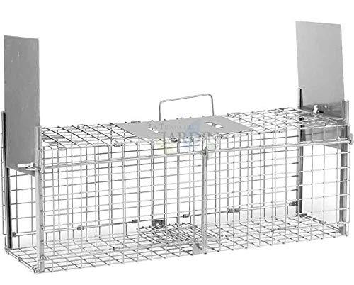 Suinga rattenkooi met 2 deuren, afmetingen: 20 x 61 x 24,5 cm