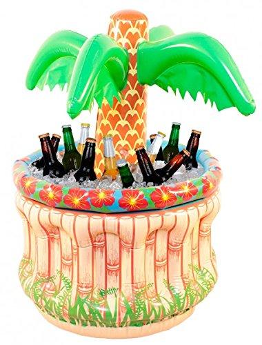 Opblaasbare palm koeler voor flessen 62cm party strand