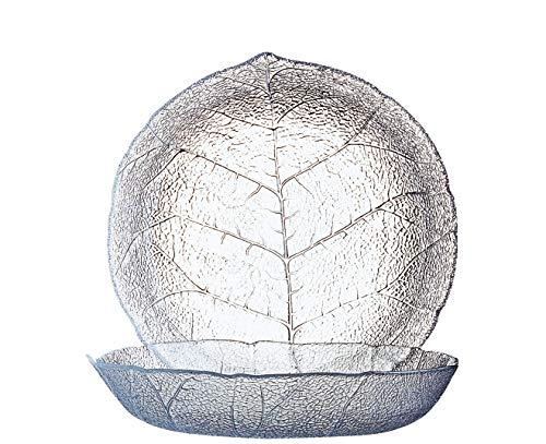 Luminarc ARC 10365 Aspen Teller tief, 20.5cm, Glas, transparent, 6 Stück