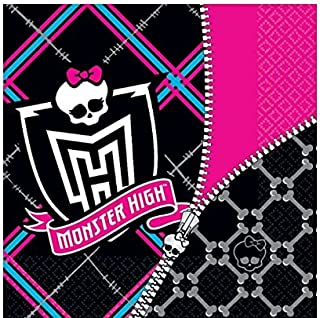 Luncheon Napkins   Monster High Collection   Party Accessory