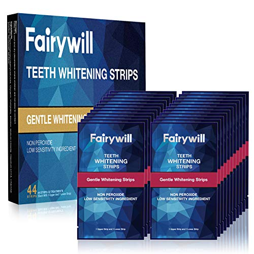 Fairywill Teeth Whitening Strips, 44 Pcs, No Sensitive Teeth Whitener...