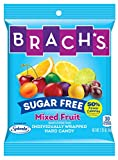 Brach's Sugar Free Mixed Fruit Hard Candy, Individually Wrapped, Pack Of 12, 27 Ounce Bag
