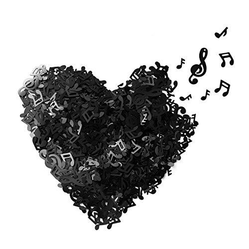 Toyandona Musiknoten-Konfetti, Musikschlüssel-Note, Konfetti-Dekoration für Musik Party Geburtstag Hochzeit 15 g (verschiedene Stil)